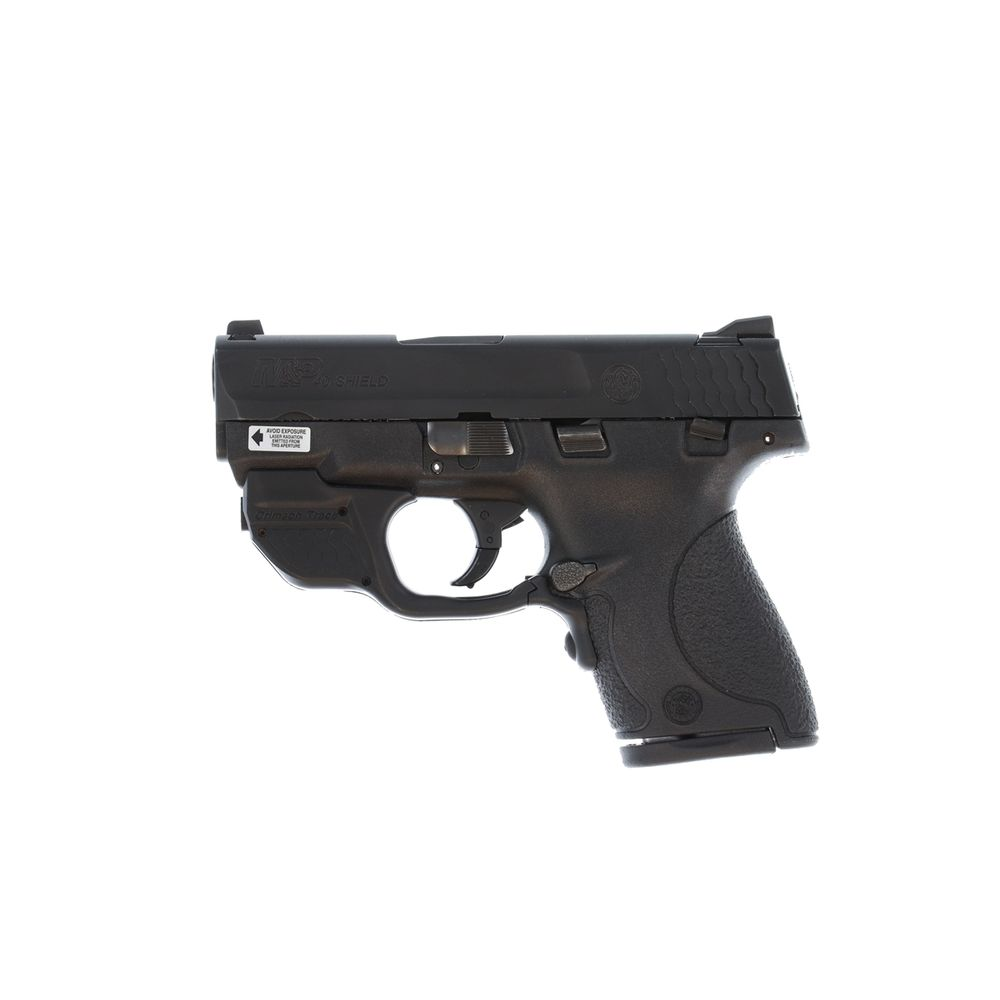 Pre Owned Smith & Wesson M&P40 Shield 40 S&W with Crimson Trace