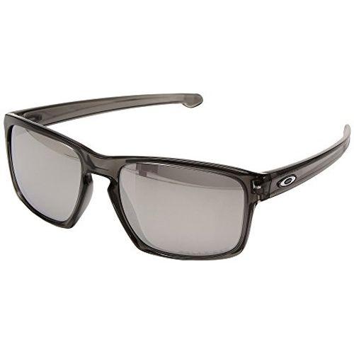 dfcbf2eae0a Oakley Sliver Chrome Iridium Polarized Sunglasses - DEGuns