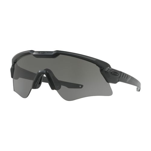 9ff8af6e7a Oakley SI Ballistic Matte Black M Frame Alpha Sunglasses with Grey Lens