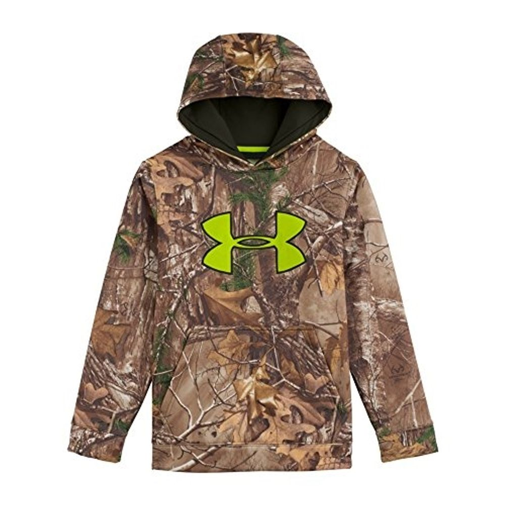768380cc49c39 Under Armour Youth Scent Control Fleece Hoodie - Realtree Camo.  1248041-946- ...