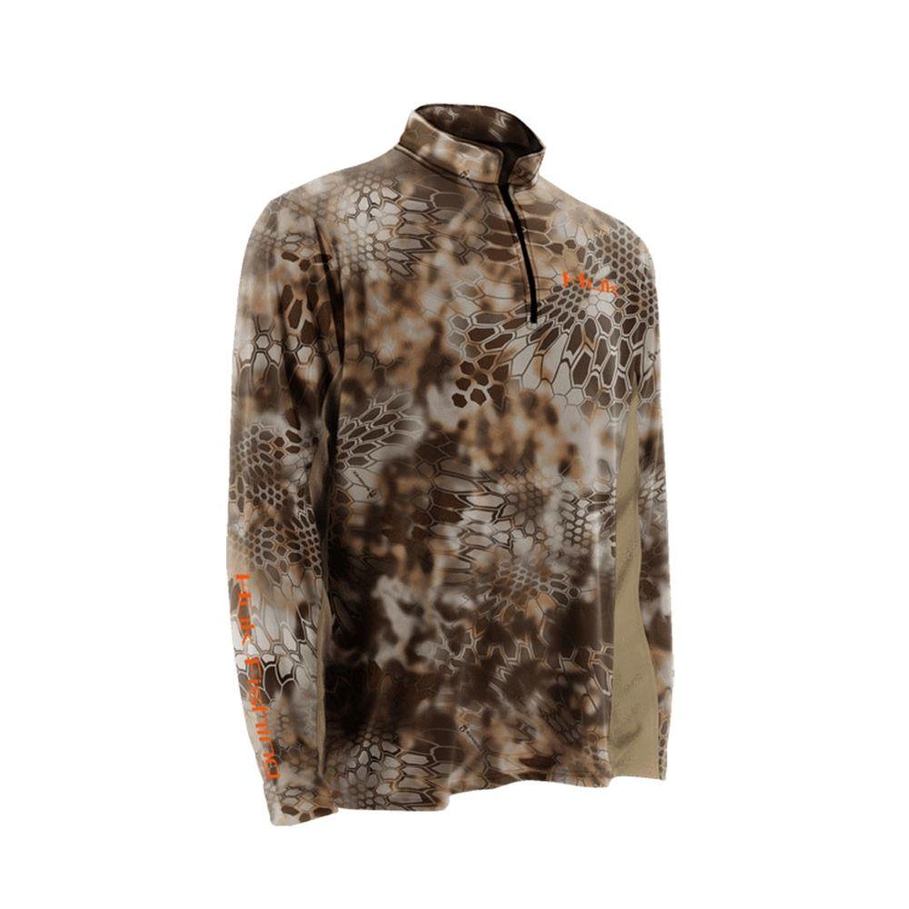 f7a1f97e Huk Men's Kryptek ICON 1/4 Zip Long Sleeve Shirt - Size XXX Large ...