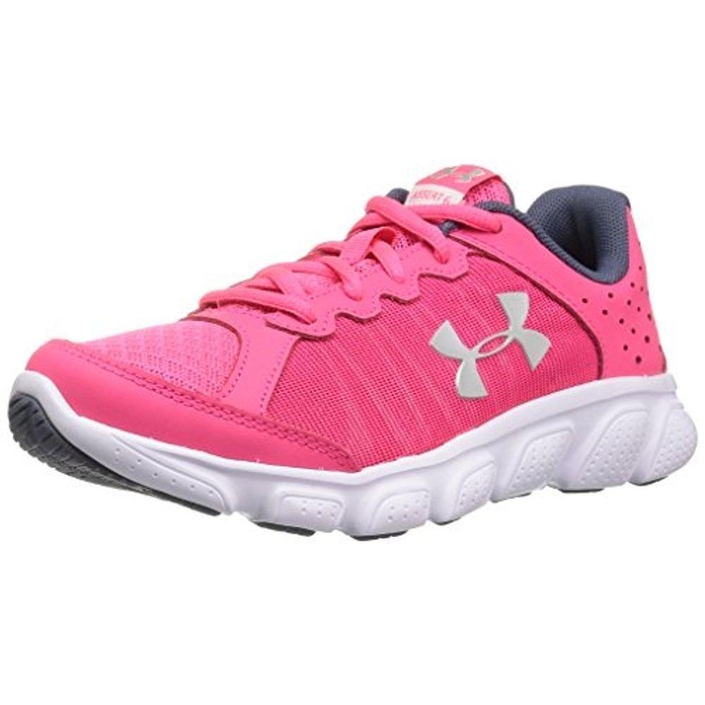 wyprzedaż informacje dla ogromny wybór Under Armour Girl's Pre-School Under Armour Assert 6 Running Shoes  PTP/WHT/MSV-11K