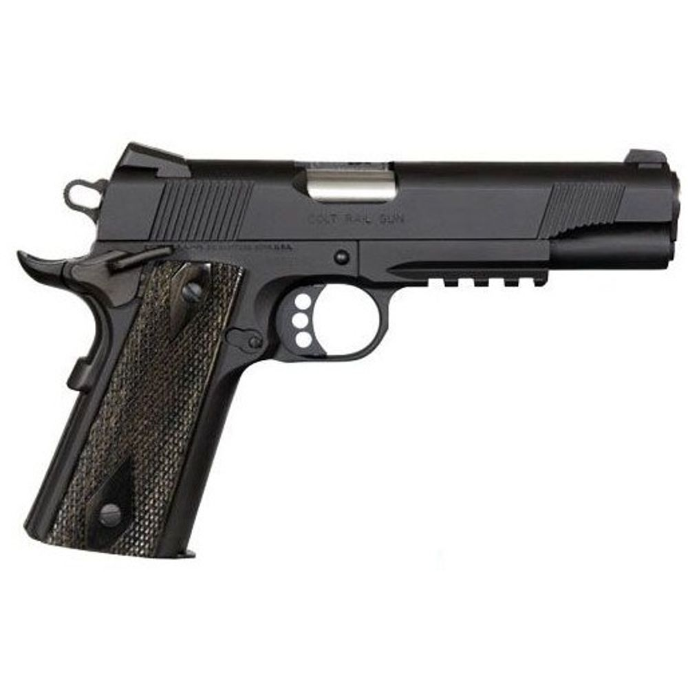 Colt 1911 Rail Gun  45 ACP 5