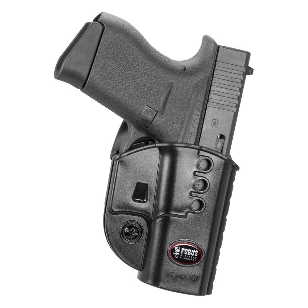 Fobus Belt Holster fits Glock G43 Pistol - DEGuns