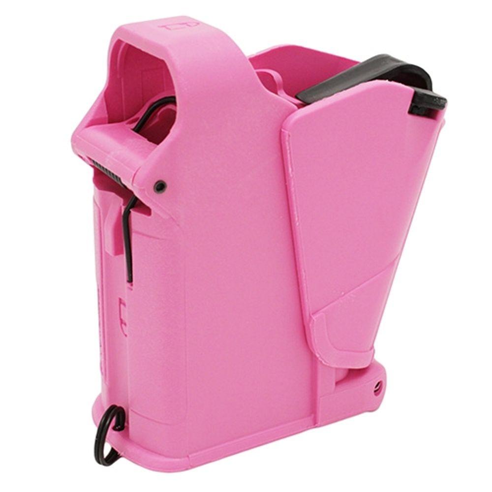 Maglula LULA Universal Pistol Magazine Loader 9mm-45ACP - Pink
