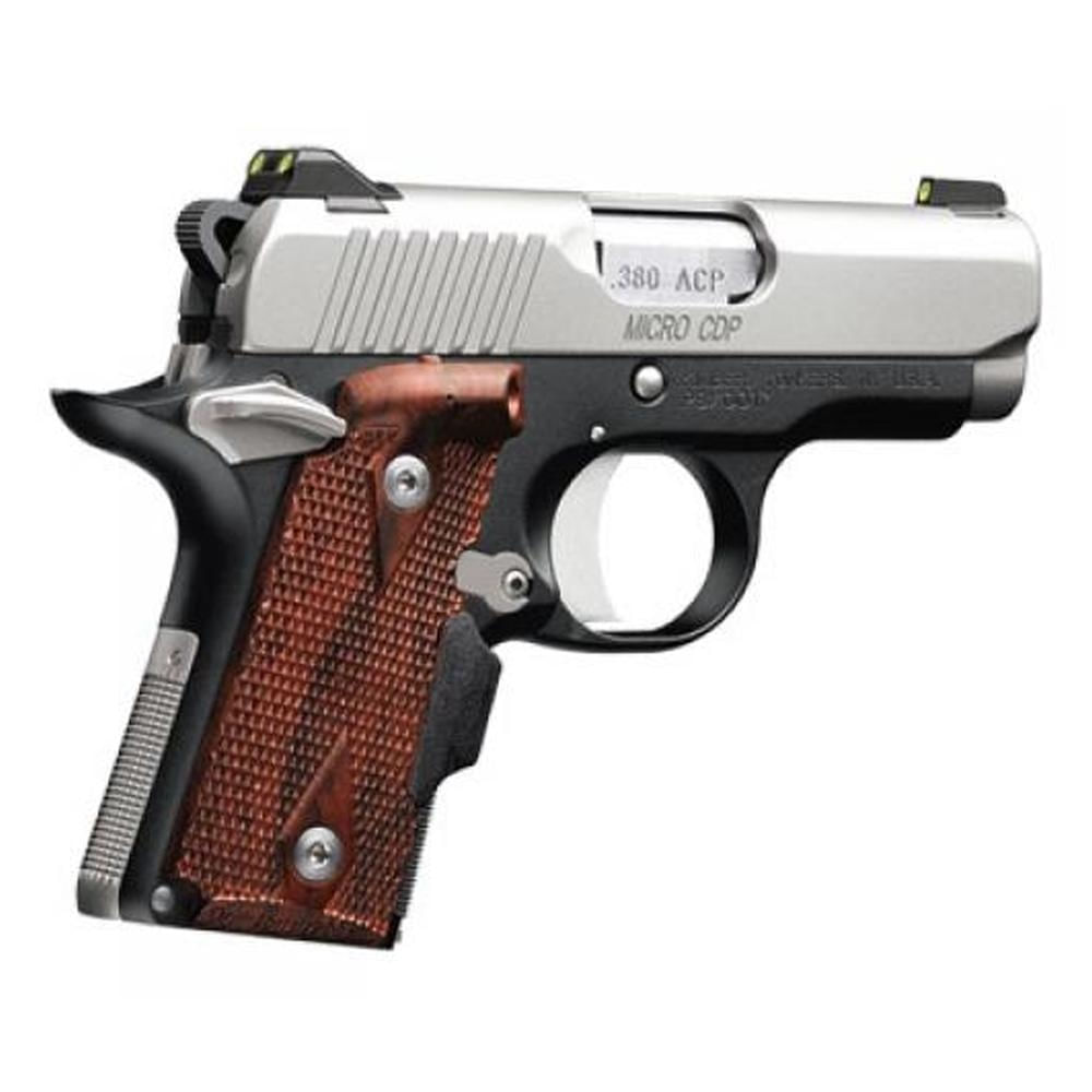 Kimber Micro Carry CDP (LG) Pistol W/ Crimson Trace Lasergrips and