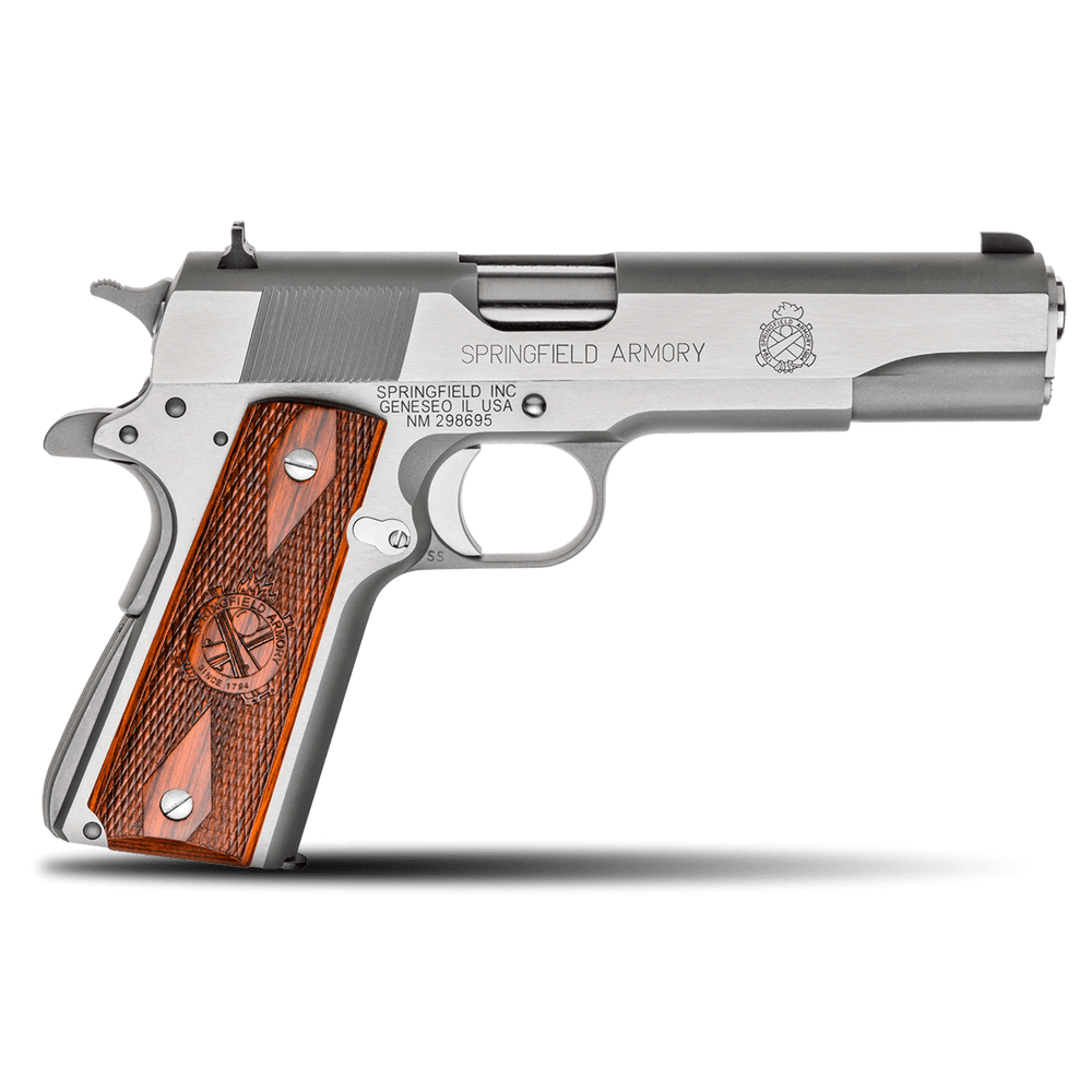 Springfield Armory 1911 Mil-Spec  45 ACP Stainless Steel