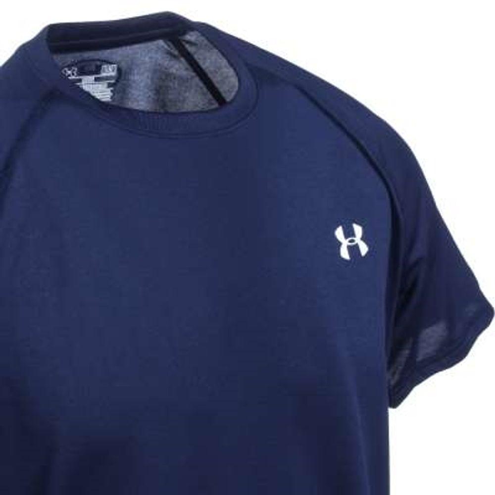 Under Armour Shirts: Men's Navy Blue UA Tech Short-Sleeve
