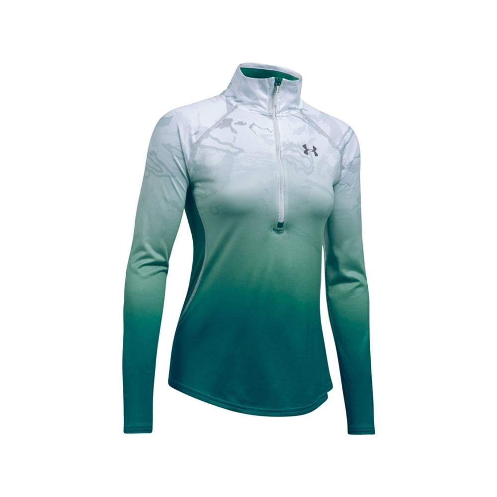8e99c469 Under Armour Women's UA Camo Fade Tech 1/4 Zip Shirt Long Sleeve.  1300511-956-2