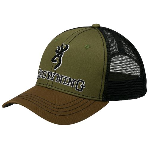 22766f676ee Browning Men s Typical Antler Patch Mesh Back Hat. 308250841-2