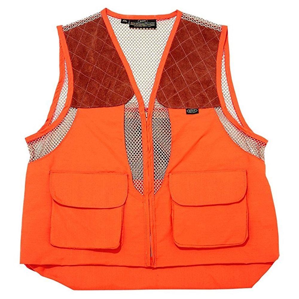 03ad7f4cb2b02 Boyt Harness HU101 Mesh Hunting Vest, Orange- large. 0HU101L03-2