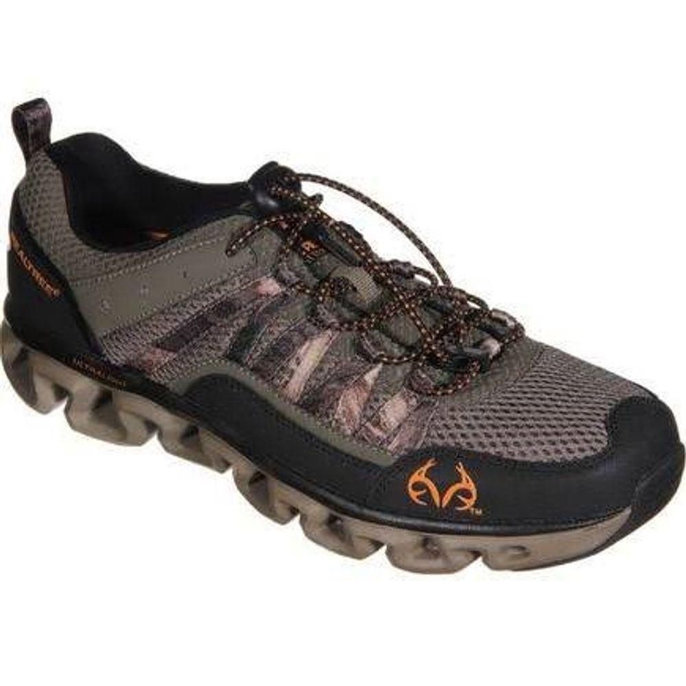 dd2aab895bb61 Realtree Shark Mens Slip On Athletic Shoes - Brown - DEGuns