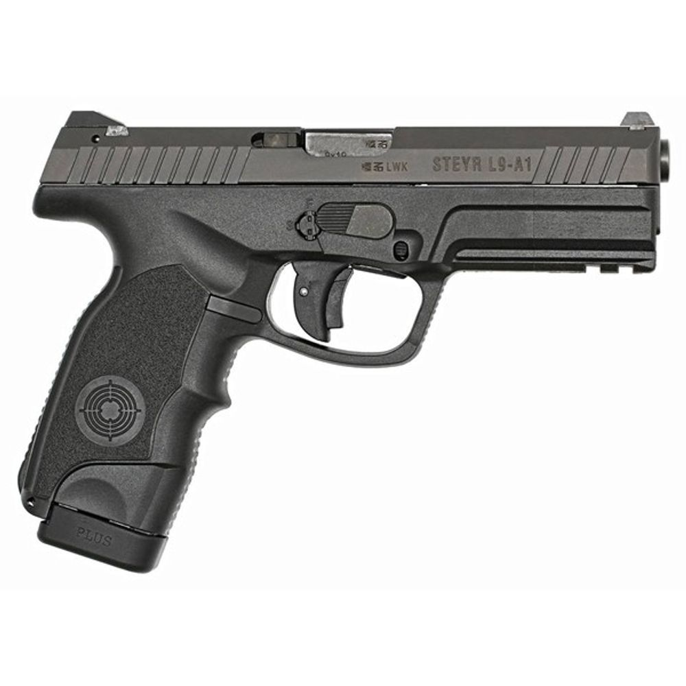 Steyr Mannlicher L-A1 Semi Automatic Pistol 9mm Luger 4 5