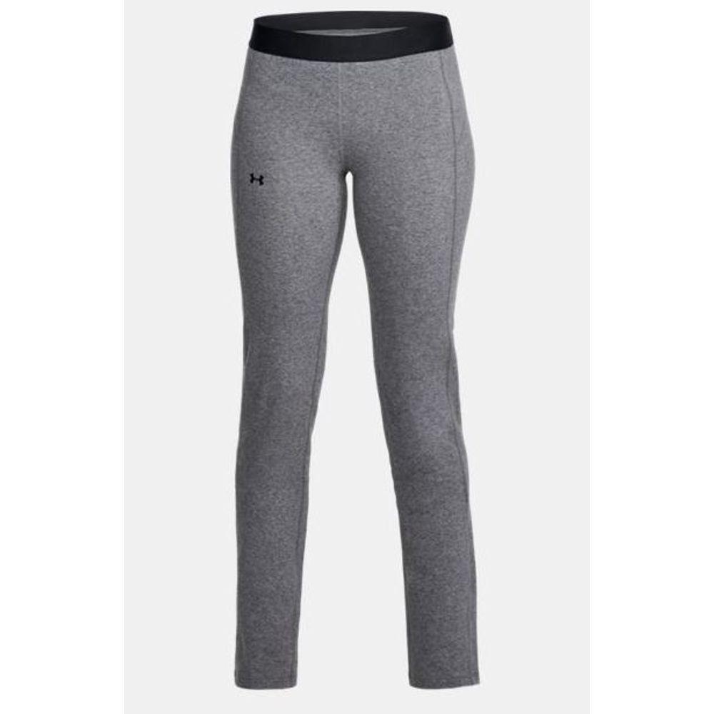 69cc081eb4d87 Under Armour Women's Favorites Straight Leg Pant - Gray. 1314510-019- ...