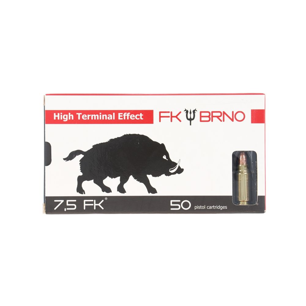 Fk Brno 7 5 mm FK Ammo HP - HTE F5M5 Lead Free 100% Copper