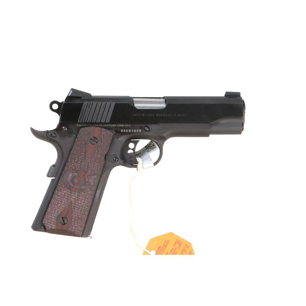 Colt Mfg O4842XE 1911 Lightweight Commander Single 9mm 4 25