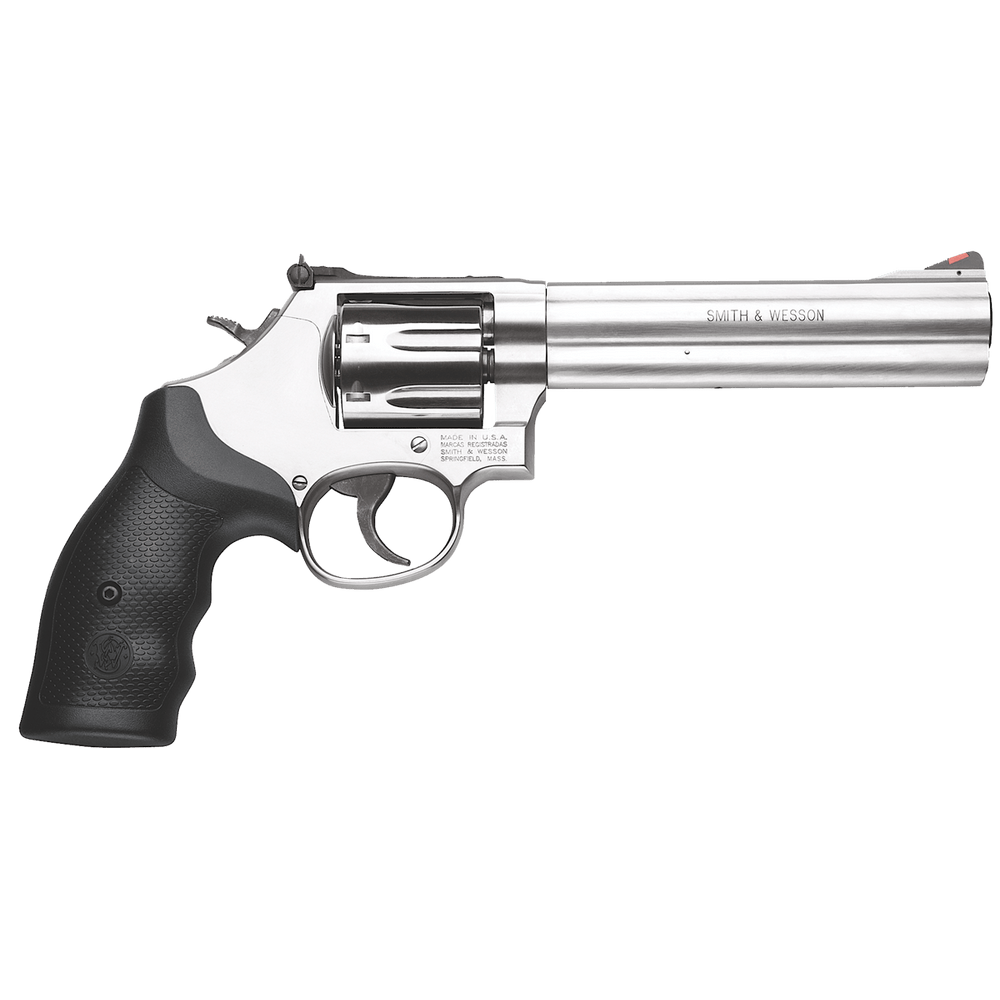 Smith Wesson 164198 686 Plus Revolver 357 Mag 6in 7rd Stainless