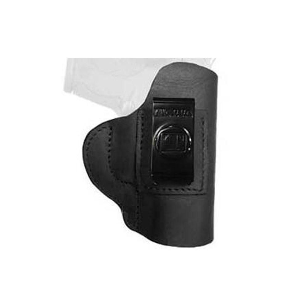 Tagua Gun Leather Super Soft S&W M&P Shield Inside Waistband Holster  Leather Right Hand Black SOFT-1010