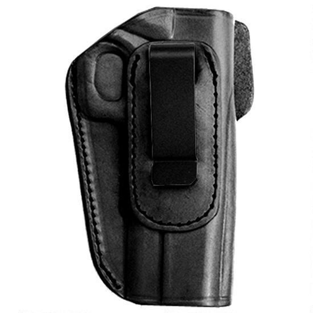 Tagua Gunleather 4-IN-1 S&W Shield Inside the Waistband Holster Right Hand  Leather Black IPH4-1010