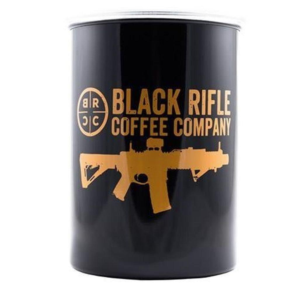 712ee6ae Black Rifle Coffee BRCC Classic Logo Airtight Container. BRCC-SLC-2403-2