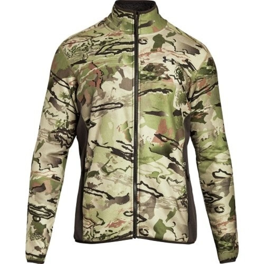 c7be3da28086e Under Armour Stealth Fleece Men's Hunting Jacket, Ridge Reaper. 1279673-900-2;  1279673-900-3. UNDER ARMOUR