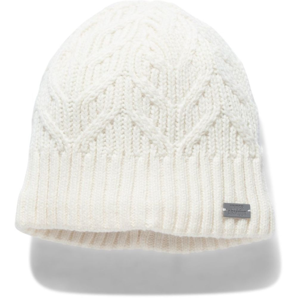 7c5ec69a2f0 Under Armour Women s Ivory UA Around Town Beanie. 1299899-130-2