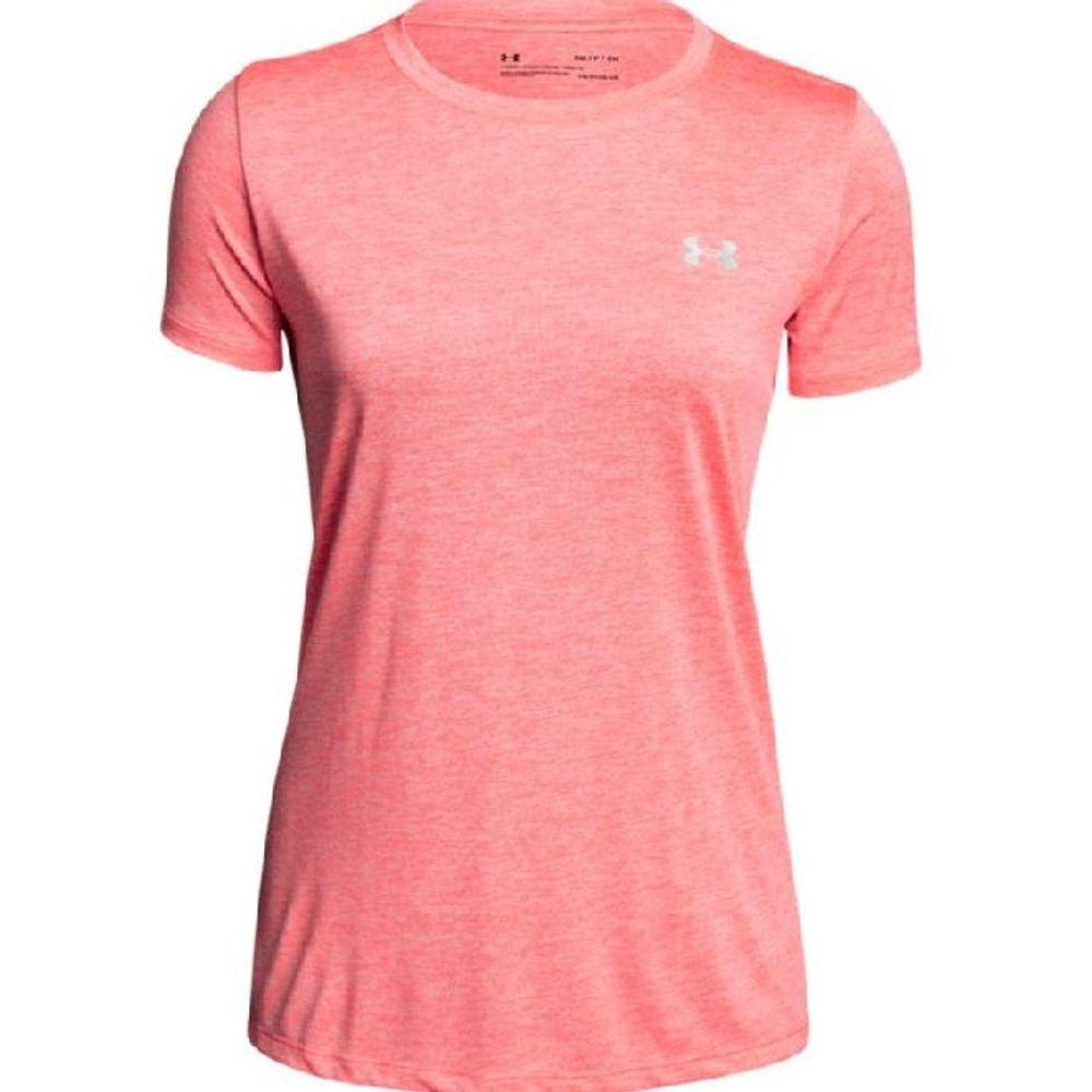 940e83206 Under Armour Women's Tech SSC Twist - Brilliance Pink/Metallic Silver.  1277206-819- ...