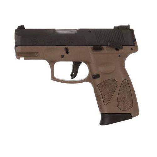 Taurus PT111 Millennium Pro G2 Brown Frame 12+1 1-111031G2-12B - deguns
