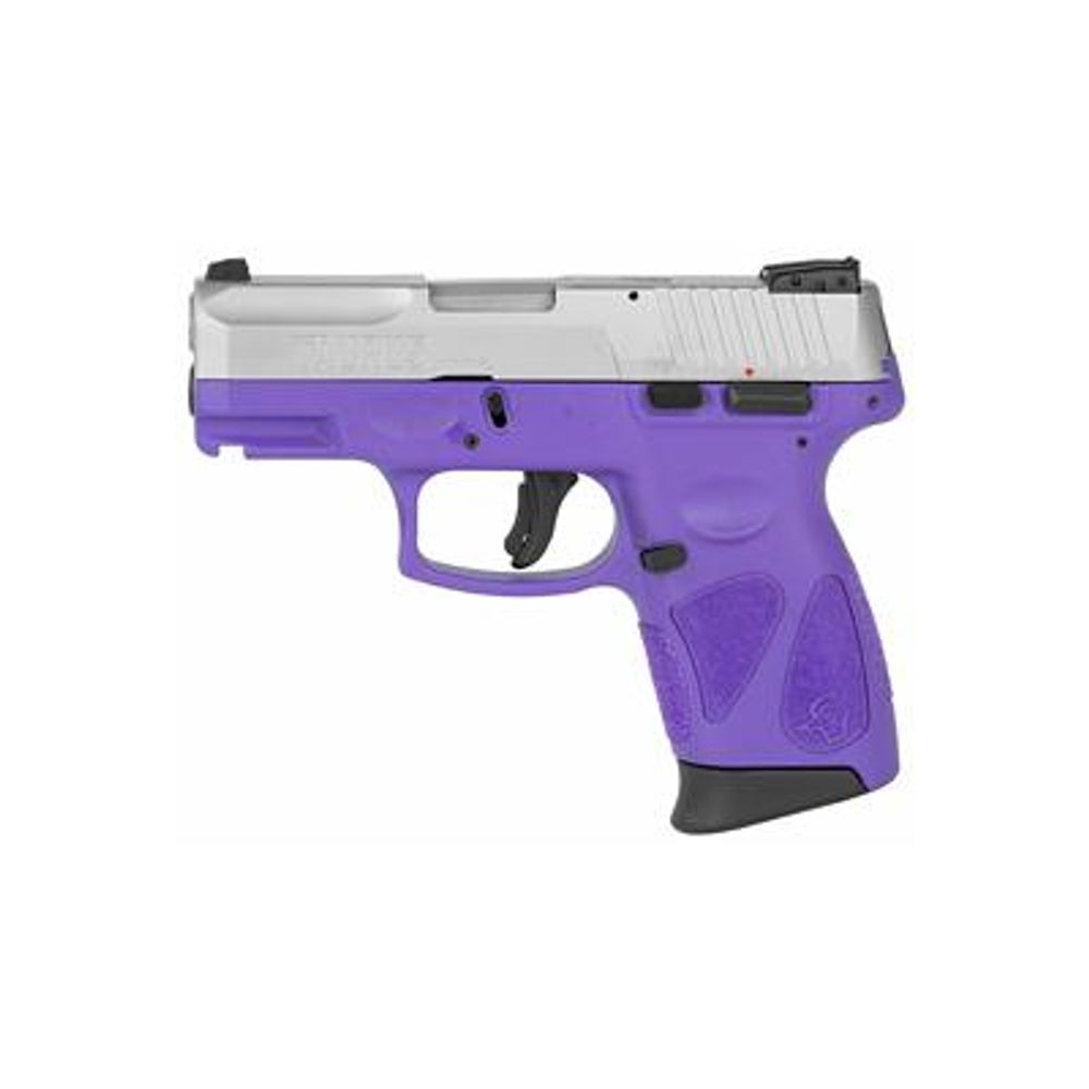 Taurus G2C 9mm Sub-Compact Pistol with Dark Purple Frame and Stainless  Slide - 1-G2C939-12DP