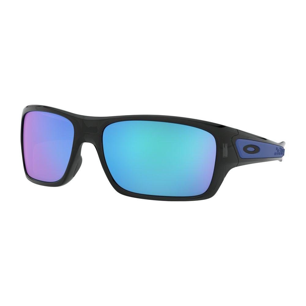 8d2948f618 Oakley Men s Turbine OO9263-05 Iridium Rectangular Sunglasses