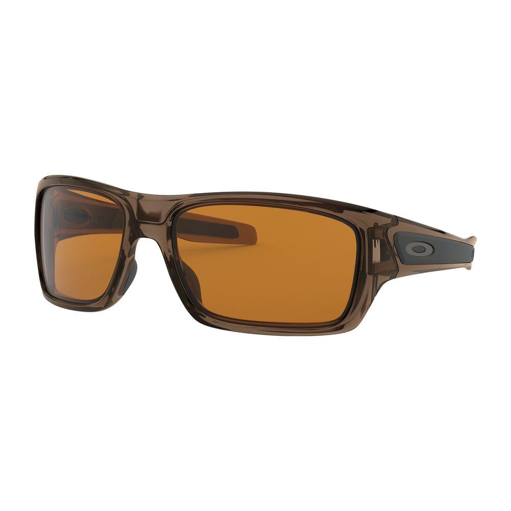 a967d56084c Oakley OO9263-02 Turbine Brown Smoke Dark Bronze Sunglasses - DEGuns