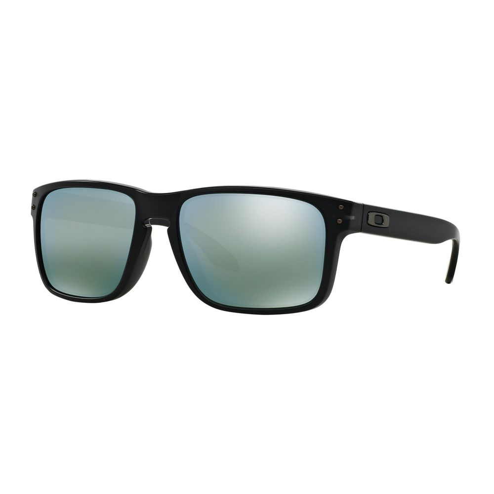 b3f3f56d83b16 Oakley Men s Holbrook OO9244-07 Black Square Sunglasses - DEGuns