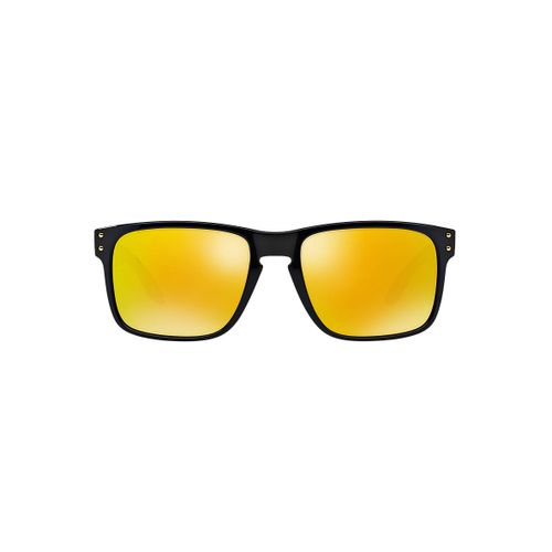 c81ac04563 Oakley - Holbrook OO9102-08 (Shaun White Gold Series Polished Black 24k  Iridium Lens) - DEGuns