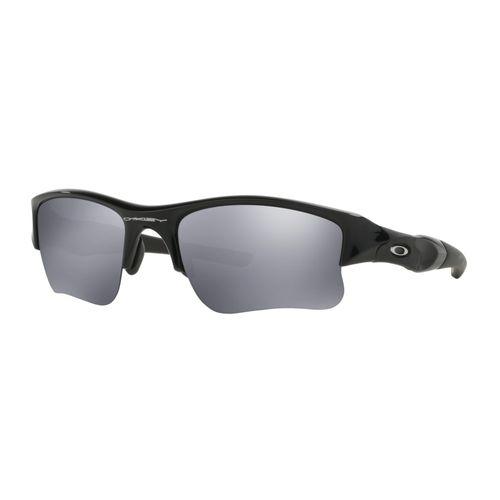 f5fab56b15 Oakley Flak Jacket XLJ Sunglasses OO9009 03-915 Jet Black   Black Iridium  Lens - DEGuns
