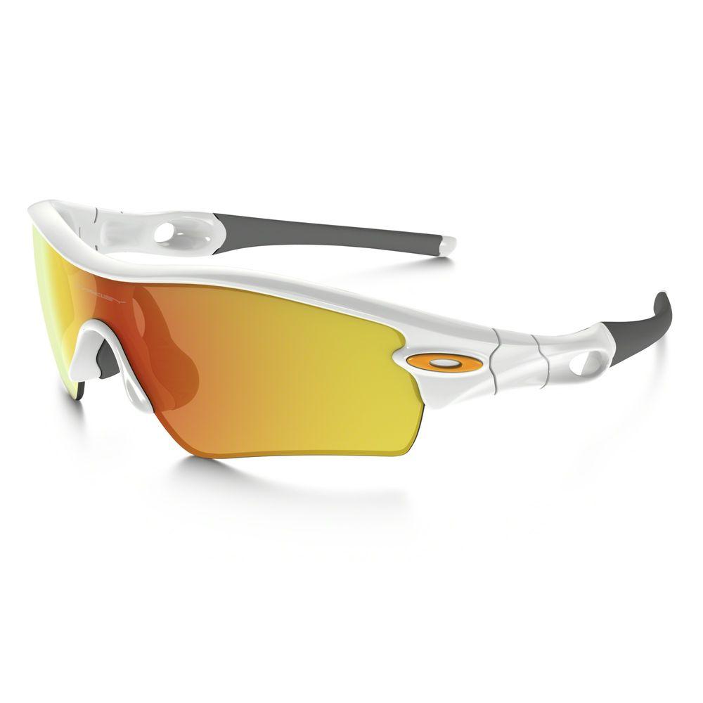 16f7185b43dfa Oakley - Radar Path (Polished White w  Fire Iridium) Fashion Sunglasses. 1  ...
