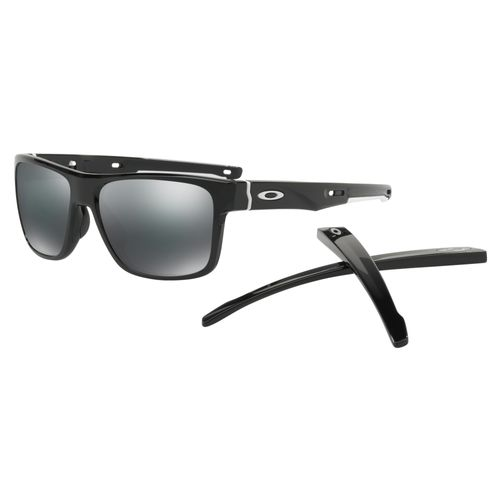 0adc64d6caf Oakley OO9361-936101 Crossrange Polished Black Grey Unisex Sunglasses