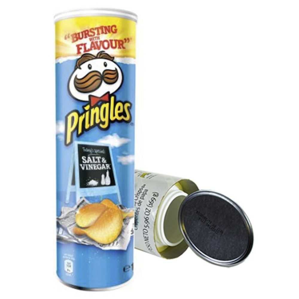 Personal Security Products Pringles Stash Can Diversion Safe - Salt &  Vinegar