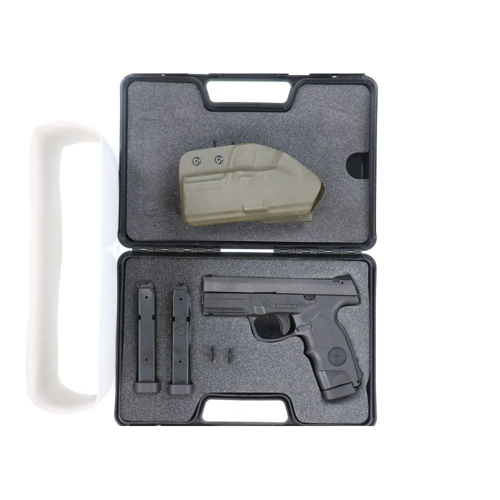 Pre-Owned Steyr 9mm M9-A1 with Green Kydex holster - USED3063873