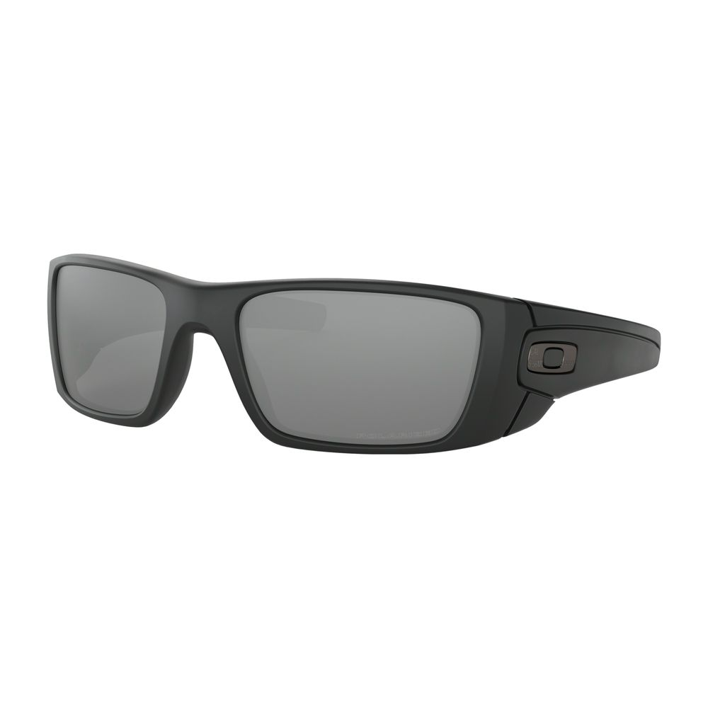 f8f7b5e2fb1c Oakley Standard Issue Fuel Cell Cerakote Graphite Black Sunglasses with  Black Iridium Polarized Lens - OO9096-B3. 5