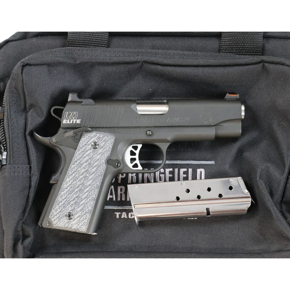 Pre-owned Springfield Range Officer Elite Compact 9mm Unfired - usedlw161994